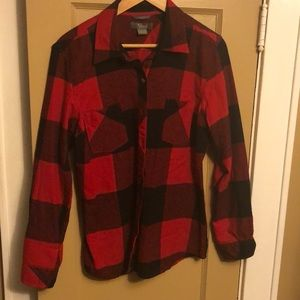 Women's Large plaid flannel.